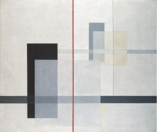 Laszlo Moholy - Nagy, K-VII, 1922.  An example of the Suprematism art.