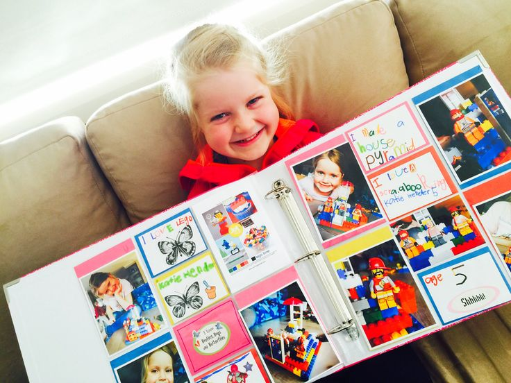 Our very proud Jot Kid - Katie with her Project life spread. Divine!
