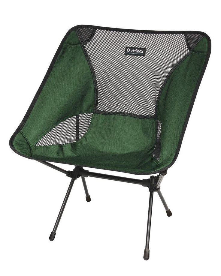 This 2lb folding camp chair is friend to anyone on the go. Packing down smaller than the Sunday Times, you can take your Helinox Chair One anywhere. Utilizing anodized DAC aluminum poles, Chair One is