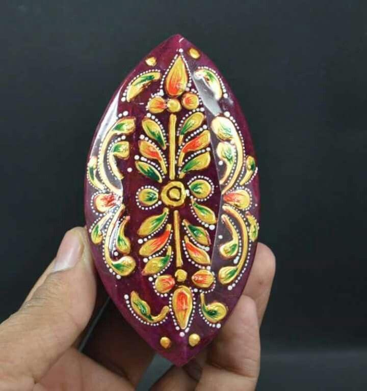 Beauty multiplied. Meena art..painted ruby