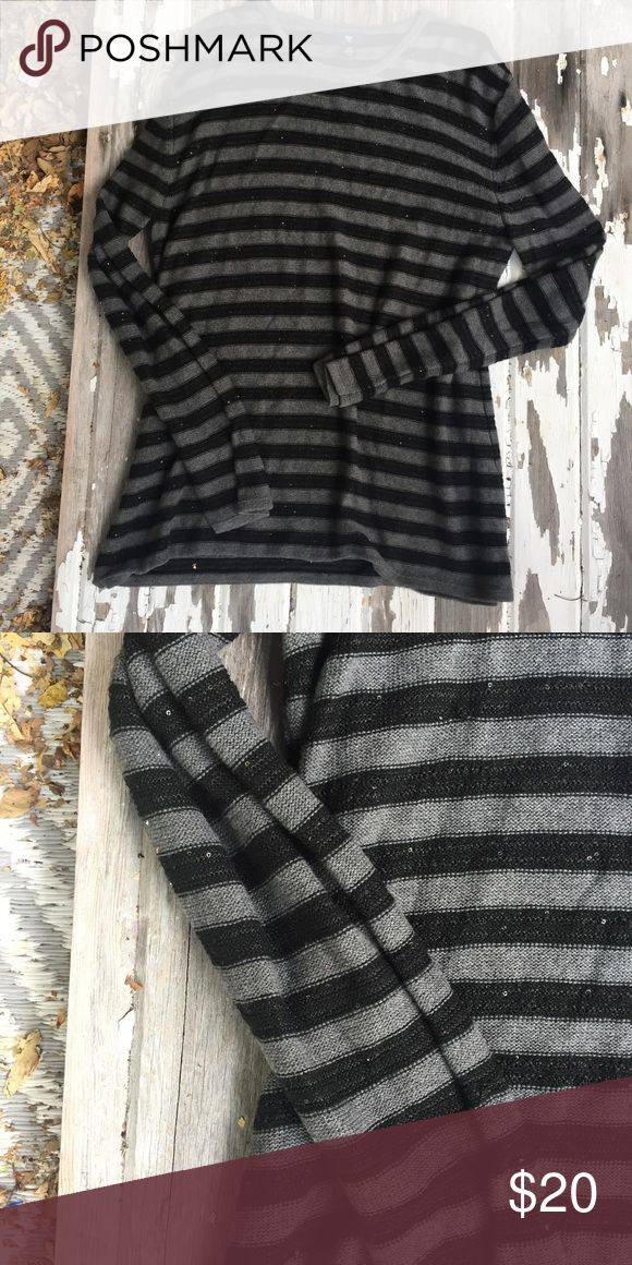 Sparkly gap sweater Sparkly lightweight striped sweater from the gap in good condition GAP Sweaters Crew & Scoop Necks