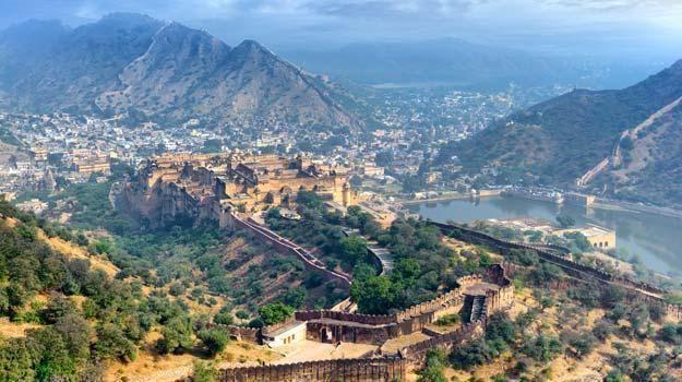 Jaipur Amber erőd
