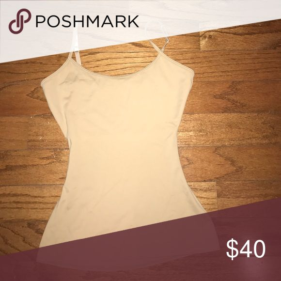 Spanx assets shape tamp top NWOT Nude new no tags SPANX Tops Tank Tops
