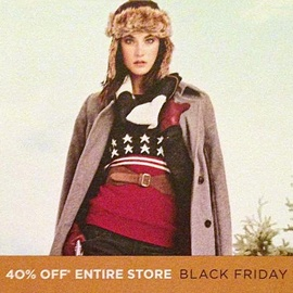 TOMMY HILFIGER'S BLACK FRIDAY AD     Tommy Hilfiger has released a Black Friday flyer announcing that the entire store will be 40% off. The flyer includes coupons for an additional 25% off your purchase of $200 or more before 10:00 am, and 15-20% off all day.  Click here for the Tommy Hilfiger Black Friday Ad.