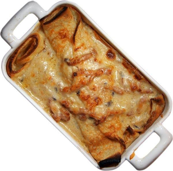 Блинчики с сыром по-швейцарски | Видео рецепты — Talerka.tv