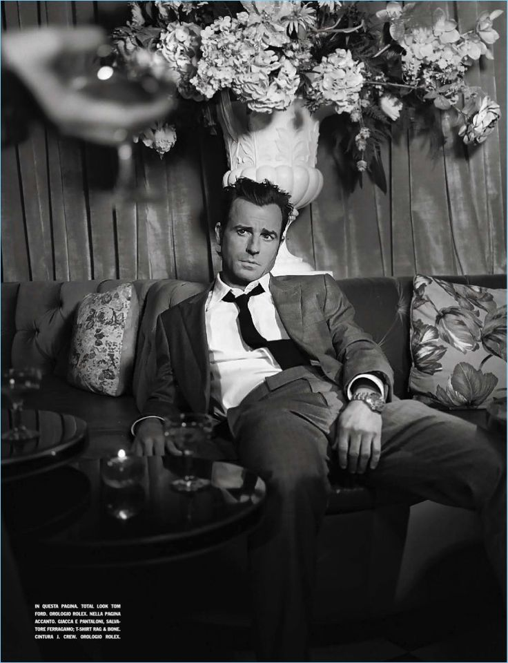 The star of The Leftovers, actor Justin Theroux stars in a new photo shoot. Theroux embraces a mysterious persona as he appears in the magazine's April 2017 issue. Photographer Petra Collins captures a cinematic feel, collaborating with stylist, Michael Philouze. Maintaining a simple aesthetic, Theroux's wardrobe for the shoot revolves around choice pieces by Tom...[ReadMore]