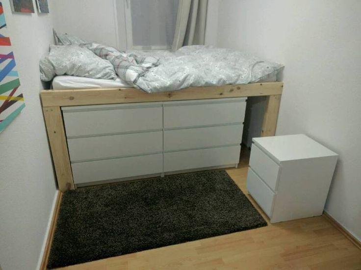 die besten 25 malm bett ideen auf pinterest ikea malm bett malm bett ikea und kopfteil bett. Black Bedroom Furniture Sets. Home Design Ideas