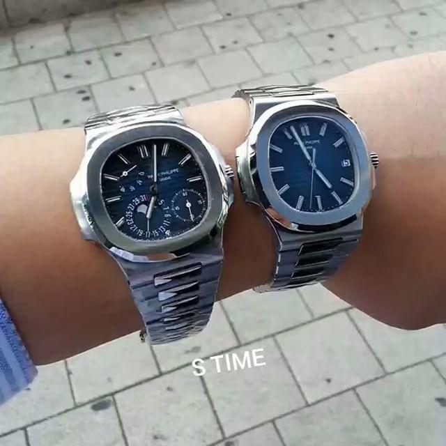"""좋아요 145개, 댓글 5개 - Instagram의 S-TIME 에스타임(@stimekr)님: """"편안한 느낌으로.... 무게감은 포기 할 수 없다 👍 . . #patekphilippe #nautilus #5711 #5712 #watch #watches #luxury…"""""""