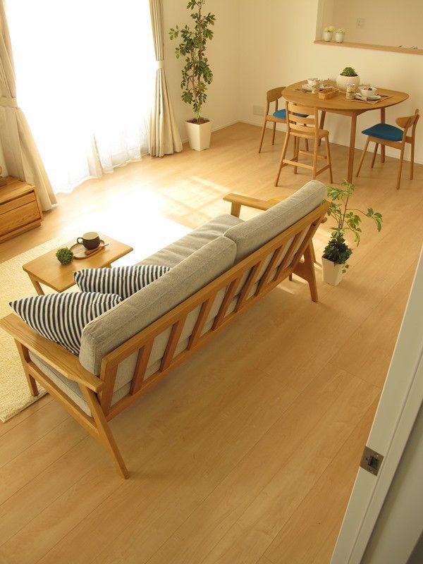 ナラ・オーク無垢材を使用した家具でナチュラルコーディネート事例をご紹介!広さに合わせた家具選び の画像 家具なび ~きっと家具から始まる家づくり~