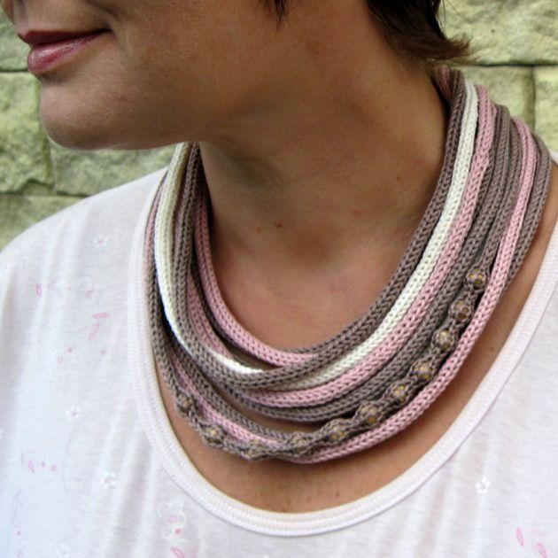 knit necklace neck warmer
