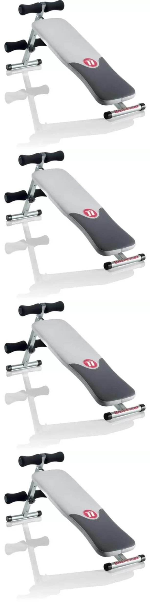 Abdominal Exercisers 15274: Fitness Exercise Crunch Gym Workout Abdominal Home Machine Abs Bench Equipment BUY IT NOW ONLY: $66.4