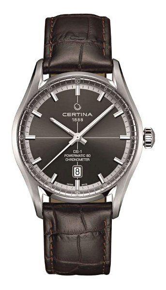 Hodinky Certina–Certina Gent Automatic–DS 1 Powermatic 80 COSC Chronometer C029.408.16.081.00 :: Hodinářství Tovys