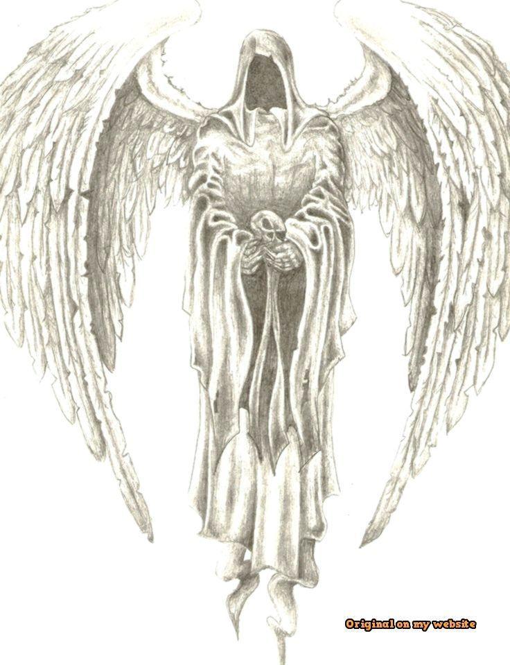 29++ Ange de la mort tatouage inspirations