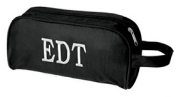 tinytulip.com - Mens Monogrammed Toiletry Bag, $19.50 (http://www.tinytulip.com/mens-monogrammed-toiletry-bag)  Would be a good groomsmen gift.