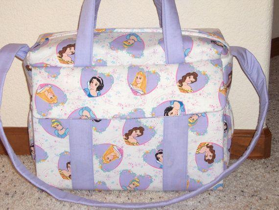 Disney Princess Diaper Bag W Change Pad By Emijane Baby Pinterest Bags And