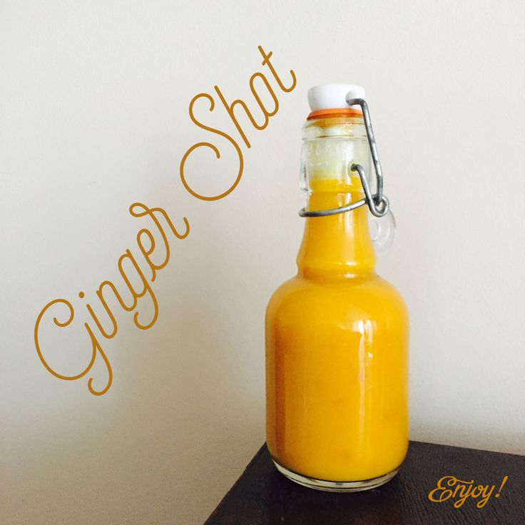 Ginger Shot - Immune and energy booster :)