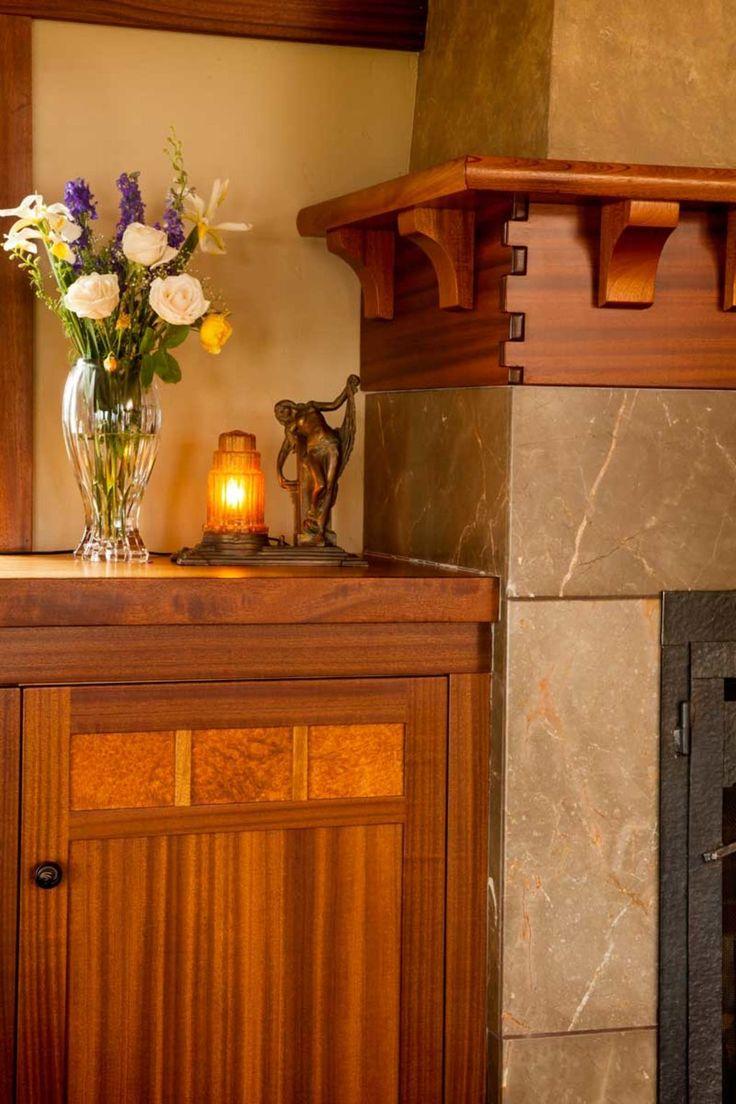59 best Bungalow Fireplaces images on Pinterest | Craftsman ...