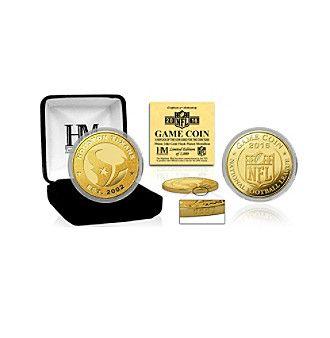 Highland Mint NFL® Houston Texans 2016 Gold Game Flip Coin