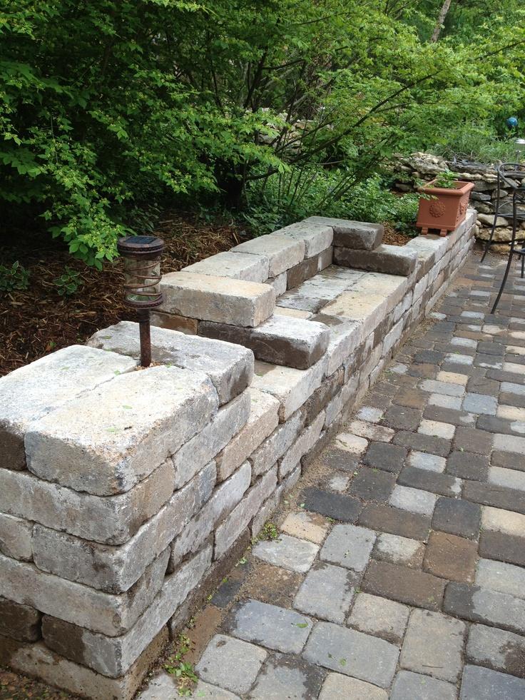 Build bench seat onto planter box 25