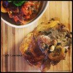 Sicilian Caponata and Lamb
