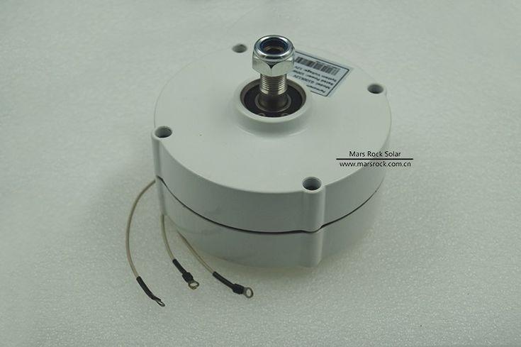 Generador de imán permanente alternador para aerogenerador vertical generador de ca 100-300 w