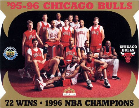 I loved watching Michael Jordan and the Chicago Bulls!
