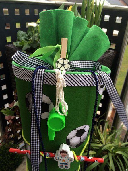 Fußball - Schultüte/ Zuckertüte von XBergDesign2 auf DaWanda.com