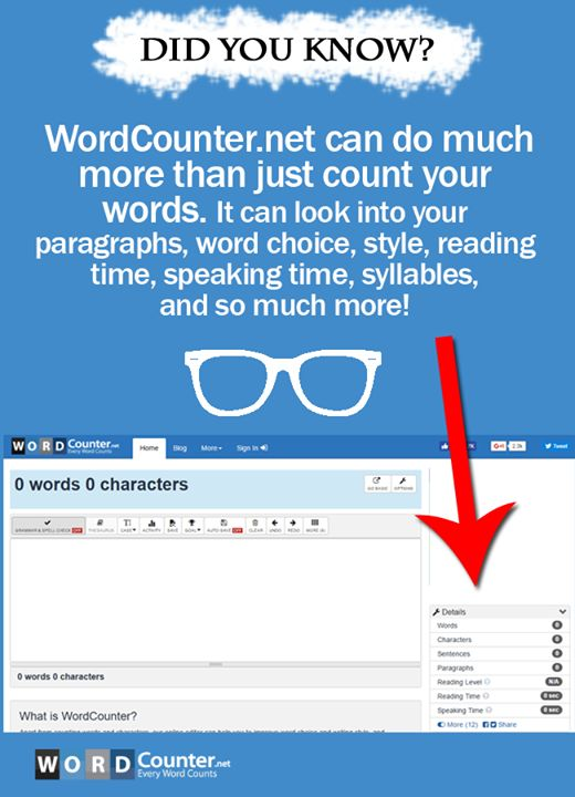 website that counts how many words are in your essay Of course, it will only show up as a blank if you have formated the paper with the   for those of you using endnote web/online looking to get a word count.