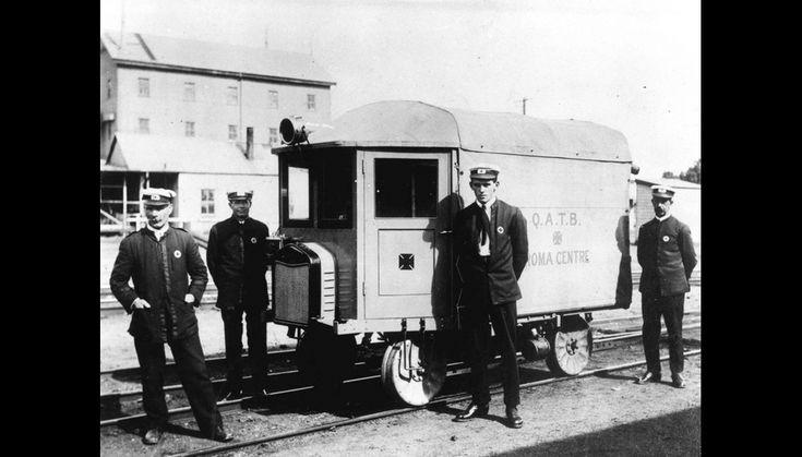 Rail ambulance, Roma (ca. 1921)