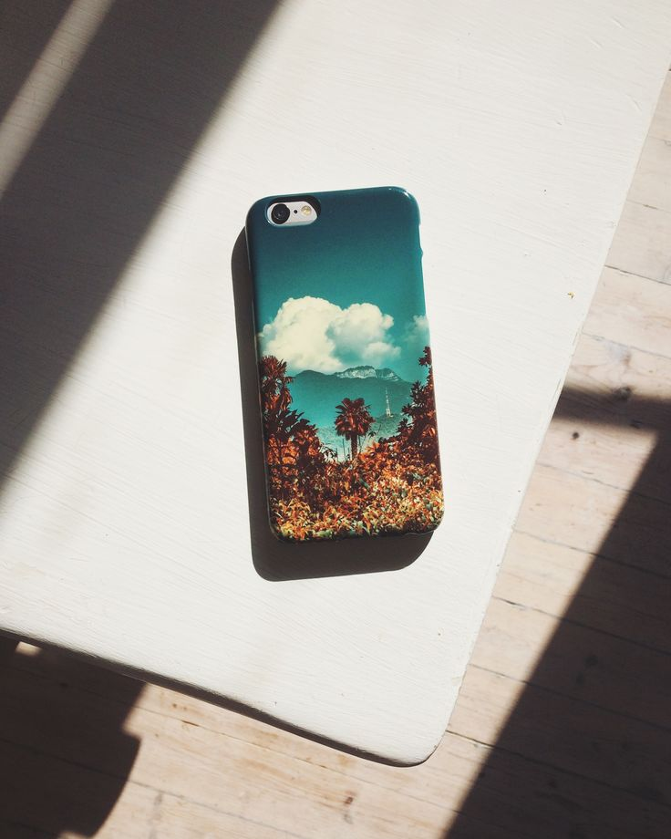 The Palm, iphone case by Pale Grain for Juniqe