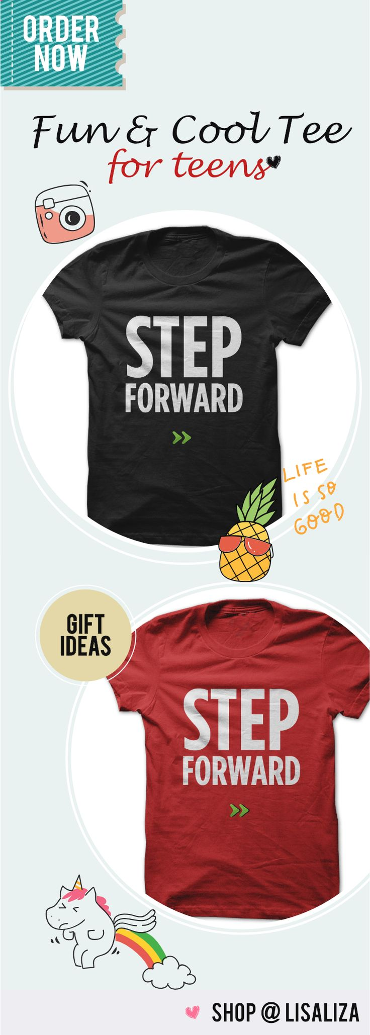 Step Forward. Motivational /Inspirational Tees Quotes and Sayings for everyone. Spreading Good Vibes /Positive Vibes . No bad days put on this cool designs and feel the positive energy . Casual Outfits for everyone. Tumblr Teen Fashion Unisex Tee Shirt for Men & Women #SayingTee #TeensBoys #TeensChic #Gifts #BestFriends #MotivationalTee #LisaLiza #SunfrogTeens #Redbubble #tumblr