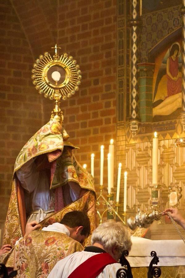 """corpus christi essays on the church and the eucharist Is the eucharist the """"real presence  in latin: corpus christi  let's get one  thing clear right now: the roman catholic church teaches that."""