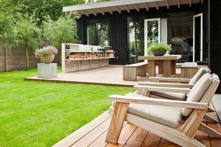 Sommerküche Diy : Sommerküche diy modernes penthouse mit dachterrasse und