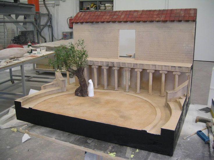 Modelo de Teatro Griego. Museo Nacional del Teatro, Almagro.