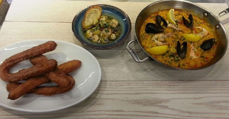 [ 3. 9 Easy & Simple 서양식 ] 해산물 샤프란 빠에야/ 새우 카수엘라(스페인식 새우 요리)/ 홈메이드 츄러스