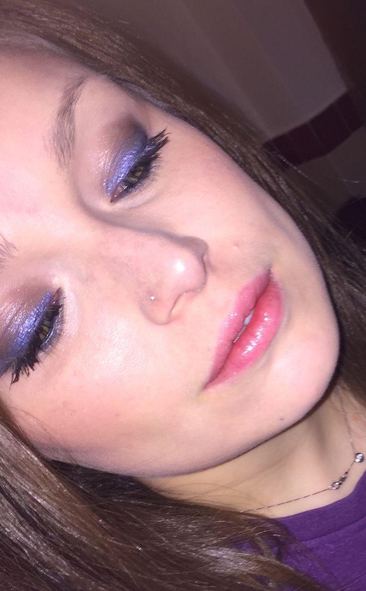 Look del giorno  #bellezzaprecaria #lookoftheday #look #makeup #me #myself #selfie #makeupoftheday #instamakeup #pic #photooftheday