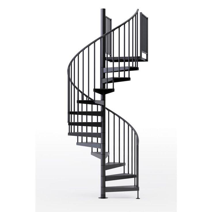 Best Mylen Stairs Condor Black 60 5Ft 0In Wide 12 Treads 400 x 300