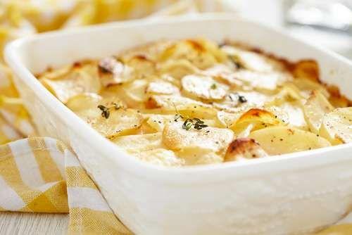 Patatas gratinadas -Mejor con Salud-