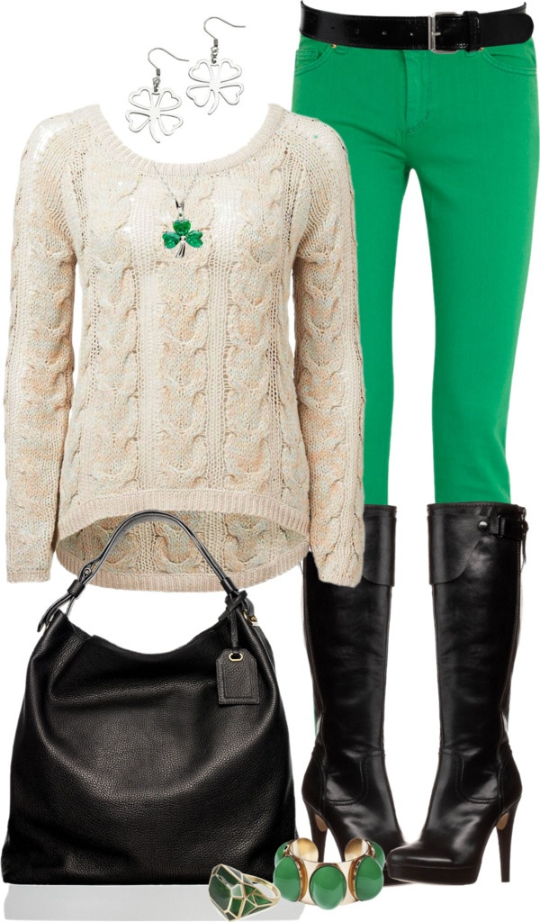 """Shamrock Jewelry"" by angela-windsor on Polyvore"
