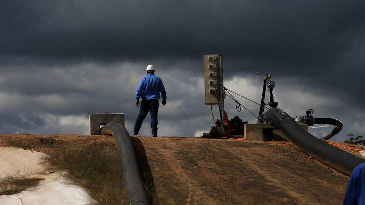 Coal seam gas report on Santos site kept secret by Environment Protection Agency