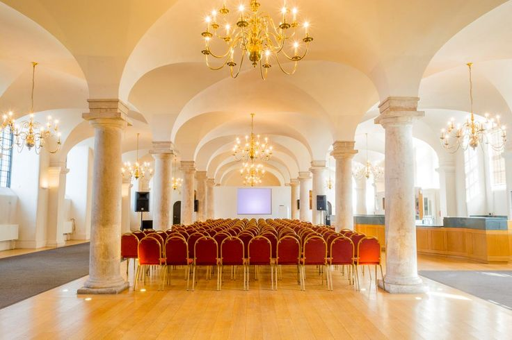 Large, vaulted space in Old Royal Naval College: https://hirespace.com/Spaces/London/10024/Old-Royal-Naval-College/Queen-Mary-Undercroft/Weddings