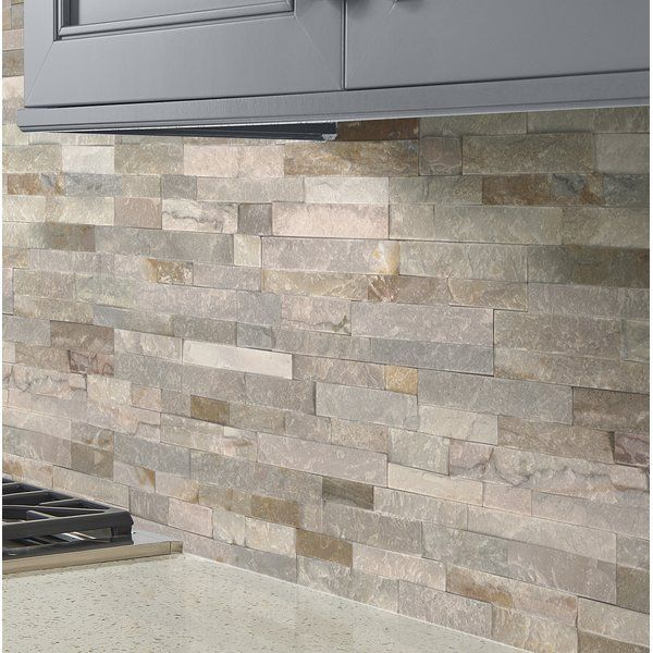 Golden Honey Random 4 5 X 16 Natural Stone Mosaic Tile Stone Backsplash Kitchen Stone Mosaic Tile Stone Backsplash