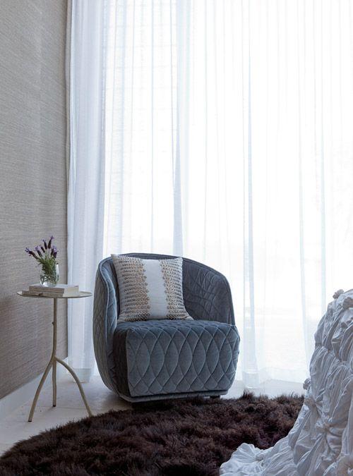 Darren Palmer's Easy Luxury. Love the chair!