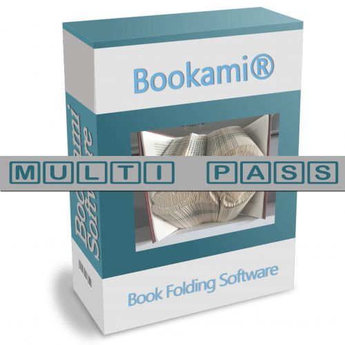 Book Folding Patterns / Templates and Book Folding Software - Book Folding Software - Bookami® Book Folding Software Multi Pass - Already own our world famous Bookami® book Folding Software and would like to install it on another device? Then our Multi Pa