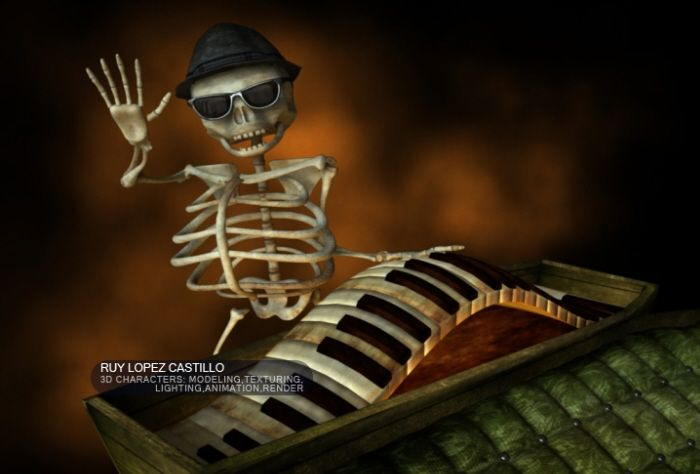 3D Characters by Ruy Lopez at Coroflot.com