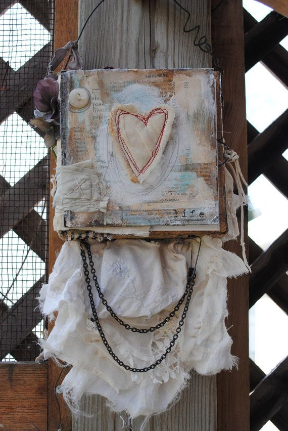 Not your ordinary photo album wall hanging by nelliewortman, $75.00