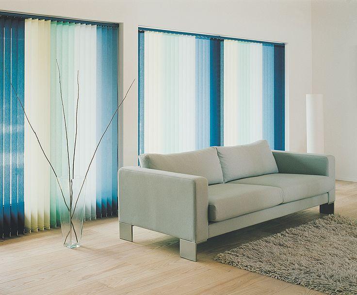 Mejores 10 im genes de cortina vertical ondulada en - Cortinas valencia ...