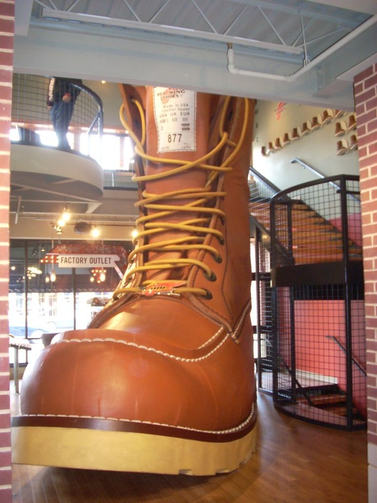 World's Largest Boot, Red Wing, Minnesota