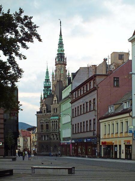 Liberec #08 Náměstí Dr. Edvarda