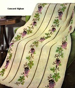 Concord Afghan crochet pattern from Your Favorite Afghans to Knit & Crochet, Volume No. 45, from 1966.